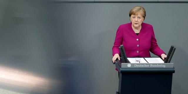 Angela Merkel. Michael Sohn / TT NYHETSBYRÅN