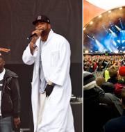 Hiphopgruppen Wu-Tang Clan är en av huvudakterna på Roskildefestivalen. TT