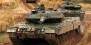 Tysk Leopard-stridsvagn som tidigare exporterats till Turkiet. DETMAR MODES / TT NYHETSBYRÅN/ NTB Scanpix