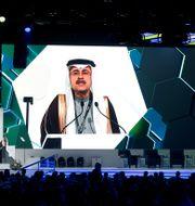 Arkivbild: Saudi Aramcos vd Amin Nasser.  Hamad I Mohammed / TT NYHETSBYRÅN