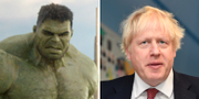 Hulken/Boris Johson. TT