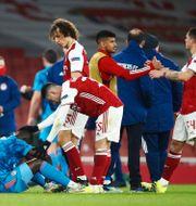 Arsenal går vidare trots förlusten.  HANNAH MCKAY / BILDBYRÅN