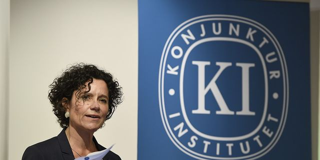 Konjunkturinstitutet prognoschef Ylva Hedén Westerdahl. TT