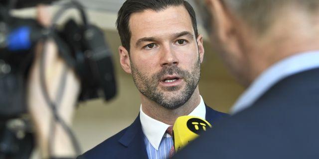 Johan Forsell (M), rättspolitisk talesperson Claudio Bresciani/TT / TT NYHETSBYRÅN