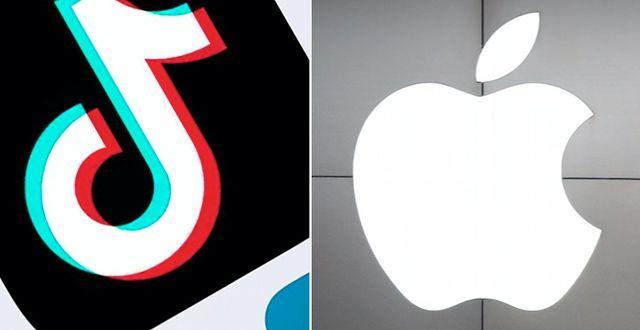 Tiktok och Apple. TT
