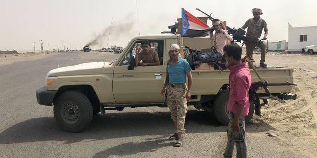 Separatisterna tog åter kontrollen över Jemen.  NABIL HASAN / AFP