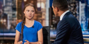 Greta Thunberg i The Daily Show