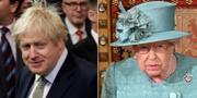 Boris Johnson / Drottning Elizabeth TT