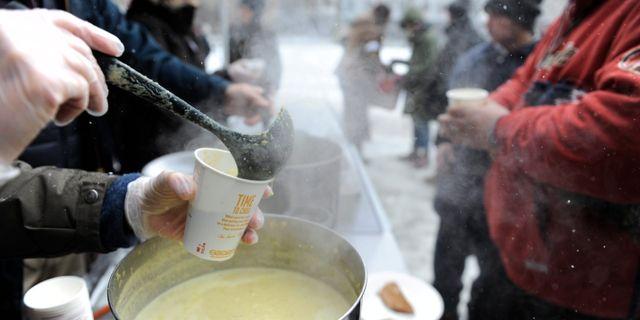 Soppkök för hemlösa. Arkivbild. ERIK MÅRTENSSON / TT / TT NYHETSBYRÅN