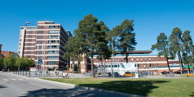 Gävle sjukhus. Arkivbild. Fredrik Sandberg/TT / TT NYHETSBYRÅN
