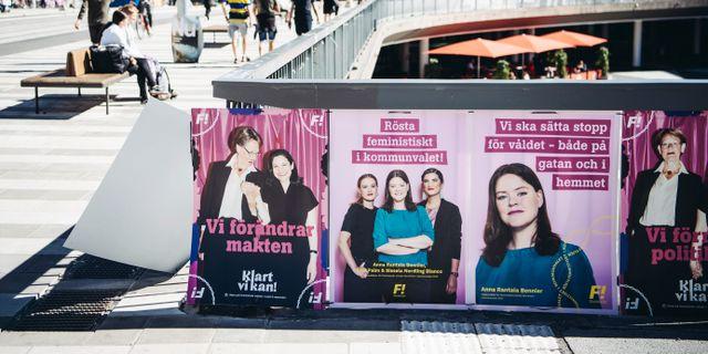 Vill satta feministerna pa plats i maktens korridorer