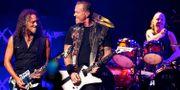 Metallica.  Charles Sykes / TT / NTB Scanpix
