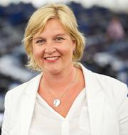 Sverigedemokraternas Peter Lundgren i EU-parlamentet/Karin Karlsbro (L). TT