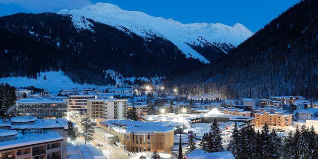 Davos. Markus Schreiber / TT NYHETSBYRÅN/ NTB Scanpix