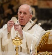 Påve Franciskus/Arkivbild Andrew Medichini / TT NYHETSBYRÅN