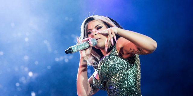Rapparen Cardi B uppträdde på Roskildefestivalen  TT