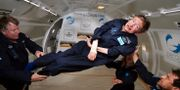 Stephen Hawking testar tyngdlöshet. ZERO G / ZERO G