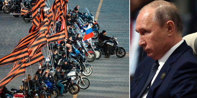 Night Wolves/Vladimir Putin. TT