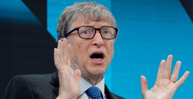 Bill Gates. Markus Schreiber / TT NYHETSBYRÅN