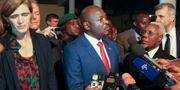 Burundis presidenten Pierre Nkurunziza. STR / TT / NTB Scanpix