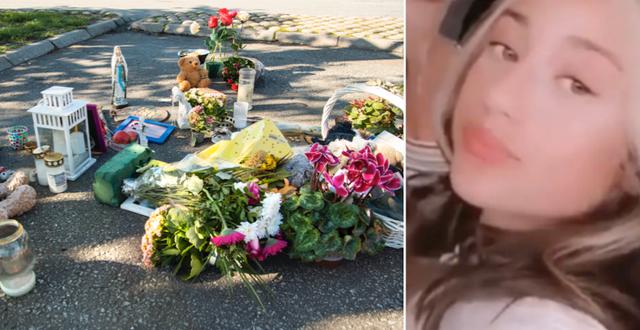 12-åriga Adriana sköts till döds i augusti.  TT