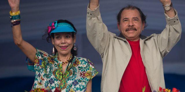 Ortega och Murillo 2015. Esteban Felix / TT / NTB Scanpix