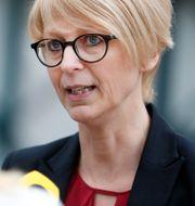 Arbetsmarknadsminister Elisabeth Svantesson (M). SÖREN ANDERSSON / TT / TT NYHETSBYRÅN