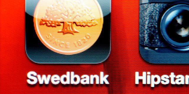Swedbanks mobilbank nere