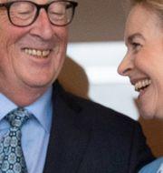 Juncker och von der Leyen. Virginia Mayo / TT NYHETSBYRÅN