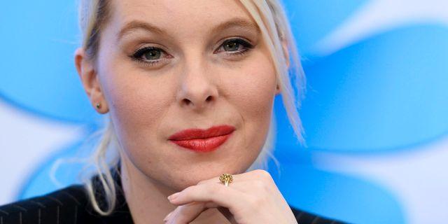 Riksdagspolitikern Hanna Wigh. LEIF R JANSSON / TT / TT NYHETSBYRÅN