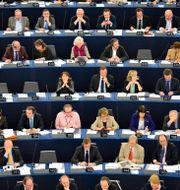 Arkivbild från EU-parlamentet i Strasbourg. HENRIK MONTGOMERY / TT / TT NYHETSBYRÅN