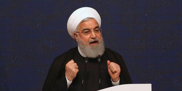 Irans president Hassan Rouhani. Vahid Salemi / TT NYHETSBYRÅN/ NTB Scanpix