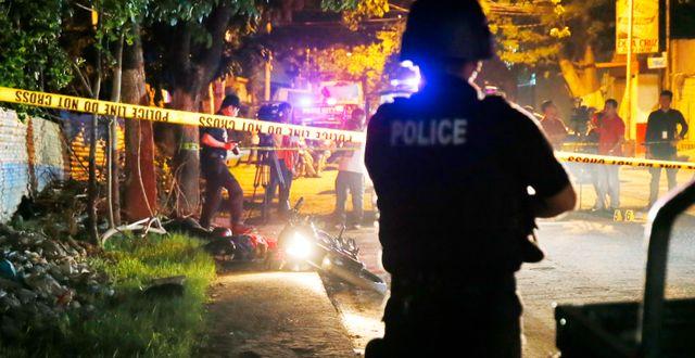 Två personer har dödats av polis i september 2016 Bullit Marquez / TT / NTB Scanpix