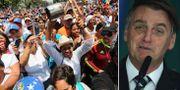 Demonstrationer i Venezuela/Jair Bolsonaro. TT