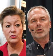 Tidigare MP-språkröret Gustav Fridolin, EU-kommissionären Ylva Johansson (S), tidigare L-ledaren Jan Björklund och EU-parlamentarikern Alice Bah Kuhnke (MP). TT