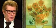 Yves Saint Laurent/Vincent van Goghs tavla med solrosor. TT