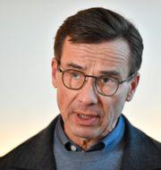 Ulf Kristersson.  Anders Wiklund/TT / TT NYHETSBYRÅN