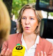 Karolina Skog.  Hanna Franzén/TT / TT NYHETSBYRÅN