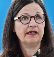 Anna Ekström (S) Stina Stjernkvist/TT / TT NYHETSBYRÅN
