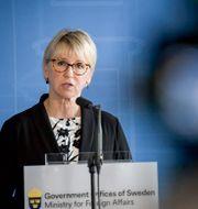 Margot Wallström. Janerik Henriksson/TT / TT NYHETSBYRÅN