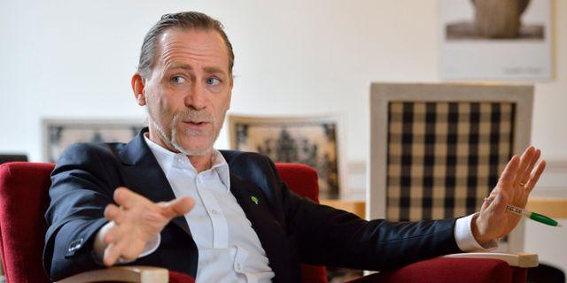 Daniel Helldén (MP). HENRIK MONTGOMERY / TT / TT NYHETSBYRÅN
