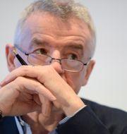 Ryanairs vd Michael O'Leary.  JOHANNA GERON / TT NYHETSBYRÅN