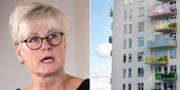 Marie Linder, förbundsordförande för hyresgästföreningen. TT