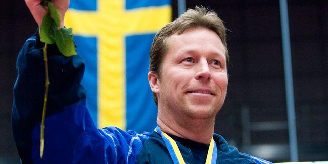Waldner år 2010 efter ett SM. LENNART MÅNSSON / BILDBYRÅN