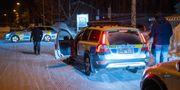 Polisen vid brottsplatsen i Umeå. Samuel Pettersson/TT / TT NYHETSBYRÅN