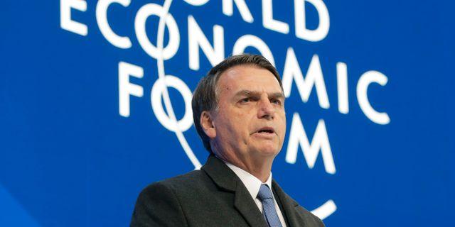Jair Bolsonaro. Markus Schreiber / TT NYHETSBYRÅN/ NTB Scanpix
