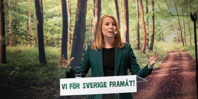 Annie Lööf. Tommy Pedersen/TT / TT NYHETSBYRÅN