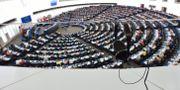Plenum i EU-parlamentet i Strasbourg. HENRIK MONTGOMERY / TT / TT NYHETSBYRÅN