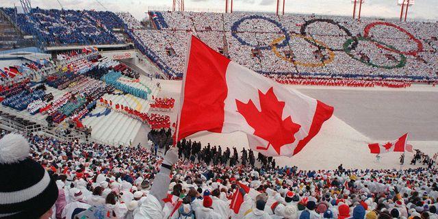 Arkivbild. OS i Calgary 1988 JONATHAN UTZ / AFP