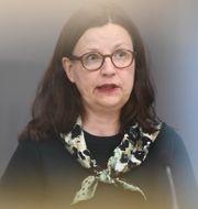 Utbildningsminister Anna Ekström.  Carl-Olof Zimmerman/TT / TT NYHETSBYRÅN
